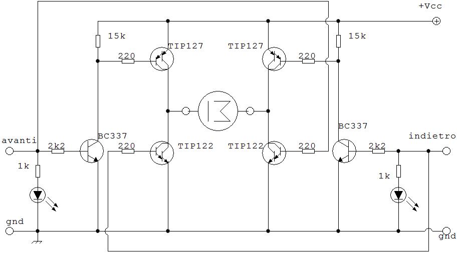 Schema Elettrico Zbx74 78 : Schema elettrico ponte h fare di una mosca